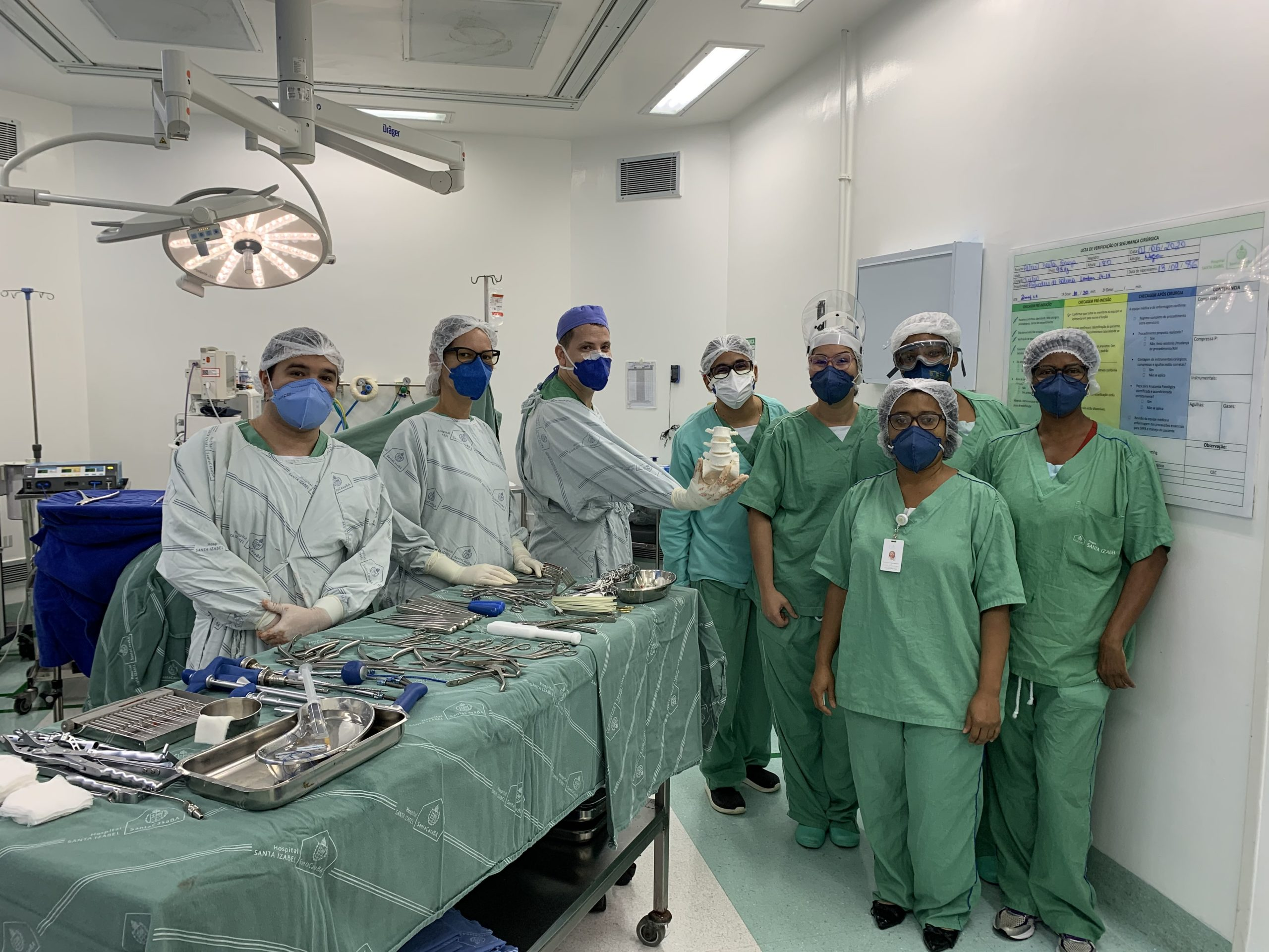 The surgical team